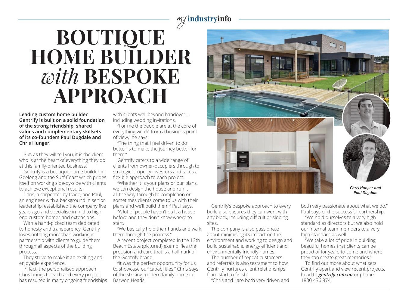 Gentrify in the Surf Coast Times